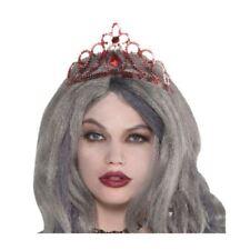 Cappelli e copricapi rossi per carnevale e teatro, tema principesse