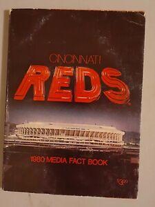 1980 Cincinnati Reds Baseball Media Guide