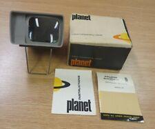 Vintage Photaz Planet - Colour Transparency Viewer - Complete in original Box
