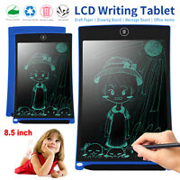 8.5'' inch Digital LCD Writing Drawing Tablet Pad Graphic Boogie Boards Notepad