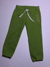 XS Lime Green Abercrombie And Fitch Capri Sweatpants
