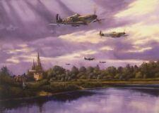 Supermarine Spitfire Mk.I Lichfield Aircraft Blank Birthday Fathers Day Card