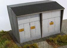 H0: Lasercut Bausatz Trafostation