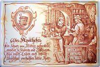 Beruf Apotheker Apothekerin Blechschild Schild Blech Metall Tin Sign 20 x 30 cm