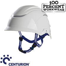 Centurion Nexus Height Master White Safety Work Helmet Climbing Hat Chin Strap