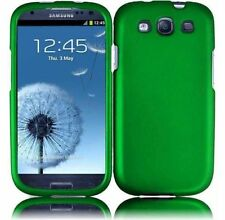 For Samsung Galaxy S III 3 Rubberized HARD Case Snap Phone Cover Dark