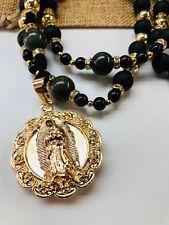 Handmade Rosary Sinaloense Buchon Virgen de Guadalupe/ Sagrado Corazon de Jesus