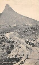 CAPE TOWN, SOUTH AFRICA, TROLLEY ON MOUNTAIN ROAD, LION'S HEAD, c. 1904-14