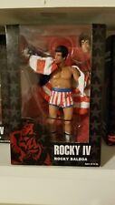 Neca Rocky Balboa 40th Anniversary Series 2 Rocky IV Figure American Trunks Flag
