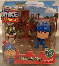 Fisher-Price Mike the Knight MIKE AND YAP Figure Pack Kingdom Of Glendragon Fun!