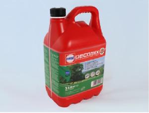 Motorsensen Motorsägen Heckenscheren Benzin Kraftstoff 2 Takt Oecomix 5 Liter