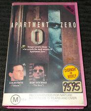 APARTMENT ZERO VHS PAL COLUMBIA PICTURES