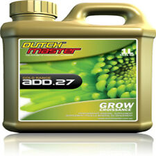 DUTCH MASTER DM ADD 27 GROW 1 LITRE FOR EXTRA FAST GROWTH FOR ALL MEDIA