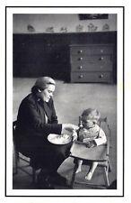 Nostalgia Postcard Salvation Army Feeding Child at the Mayflower 1954 Repro NS51