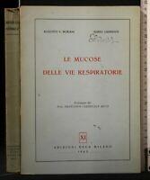 LE MUCOSE DELLE VIE RESPIRATORIE. Boriani, Gandolfi. Edizioni Deca.