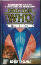 OOP Hardcover Book - DOCTOR WHO - The Two Doctors - Robert Holmes - #100 - $50+