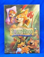 NEW!!! Robin Hood (DISNEY DVD, 2006, Most Wanted Edition) FAST FREE SHIPPING!!