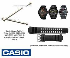 Casio Screw Set for MTG-1000 G-1250BD GW-2000 GW-3500BD Watch Strap Band - Qty 4