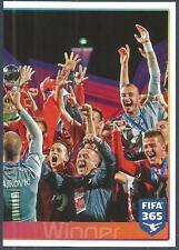 PANINI-2016 FIFA 365- #051-U20 WORLD CUP-SERBIA TEAM PHOTO-RIGHT HALF