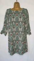 William Morris with H&M Tunic Dress Liberty Style Print Floral Size UK 4 Eur 32