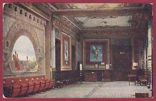 BERGAMO SAN PELLEGRINO TERME 96 INTERNO STABILIMENTO Cartolina viaggiata 1917