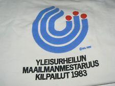 Sweat-shirt championnat d'athlétisme Helsinki 1983