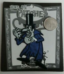 Snidely Whiplash Rocky & Bullwinkle Classic Cartoon Iron On Patch Applique 1997