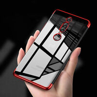 For Huawei Mate RS, Luxury Electroplate Clear Soft TPU Hybrid Full Cover Case