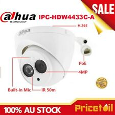 Dahua HD 4MP IPC-HDW4433C-A Built-in MIC Home Security CCTV PoE IP Camera Dome