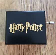Harry Potter Hand Crank Music Box, Hedwigs Theme, UK Seller
