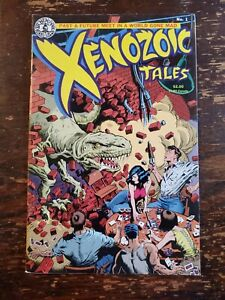 Xenozoic Tales, Kitchen Sink #1 (1987)