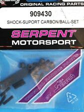 Serpent 909430 Shock Support Carbon Ball Set modellismo