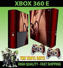 Xbox 360 E Hot Booty Mano Puños, sexy trasero Sticker Skin & 2 Pad Skin