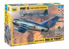 "Zvezda 1/72 MiG-15 ""Fagot"" Soviet Fighter # 7317"