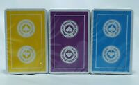 Lot of 3 Sealed Decks ACBL American Contract Bridge League Playing Cards