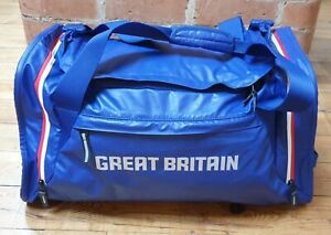 Nike Great Britain Team Sports Duffle Bag, Medium Size, Blue with Red White Trim