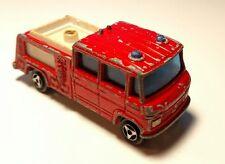 Vintage Majorette #258 POMPIER AEROPORT Airport Fire Rescue Mercedes Truck