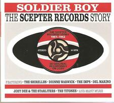 SOLDIER BOY THE SCEPTER RECORDS STORY 1961 - 1962 / 2 CD BOX SET