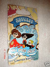 DISNEYLAND MICKEY'S PIN ODYSSEY INCREDIBLES LIMITED EDITION 500 RETIRED 20O8