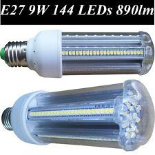 E27 9W Warm White 144 smd LED Bulbs Corn 890 lm Replaces 70/80 Watt