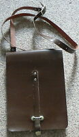 NEW Russian Soviet USSR Military Army Officer SERGEANT Leather Case Bag 1980s
