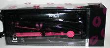 "Ionika Professional 1/2"" Mini Hair Styling Flat Iron Deluxe Hair Clip HOT LIPS"