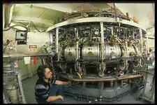 730004 Man Prepares Test Equipment A4 Photo Print