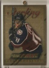 PETER FORSBERG 1995-96 FINEST #100 THEME S20 GOLD RARE WITH PROTECTOR AVALANCHE