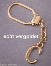 Schlüsselanhänger Fein Edler SchlÜsselanhÄnger Buchstabe Y Echt Vergoldet Keychain Weihnachtsgeschenk