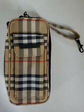 Rare Burberry Golf Wallet Wristlet