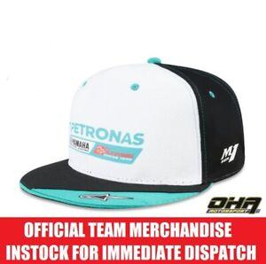 Petronas Yamaha Factory Racing MotoGP Official Team Flat Peak Cap - M1 Rossi