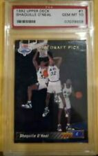 1992 UPPER DECK SHAQUILLE O'NEAL DRAFT RC PSA 10 GEM MINT HOF SHAQ