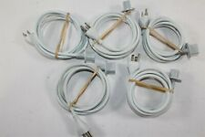 Lot of 5 Apple 622-0153 iMac 6ft 3-Prong 125V 10A AC Power Cable