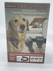 Penn Plax Vacgroom Pet Grooming Vacuum Attachment Kit  New